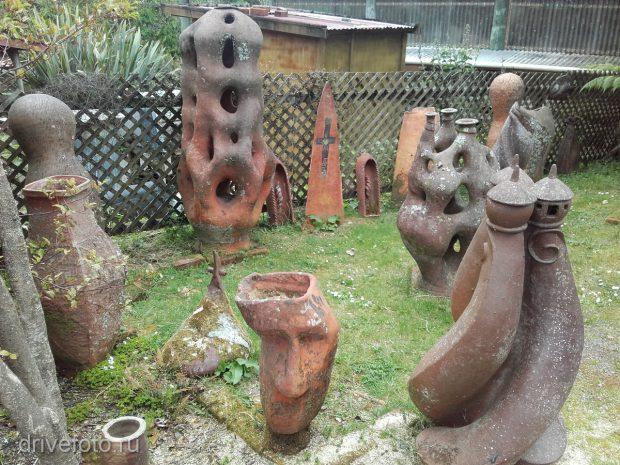 <strong>Арт-объекты с андеграундными скульптурами. Фото-2.</strong>
