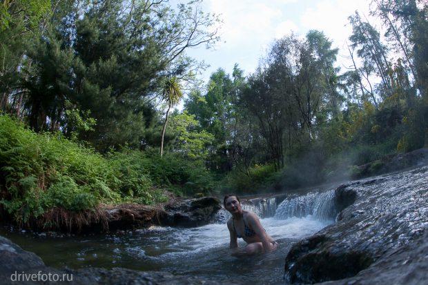 <strong>Теплые источники: ручей Kerosene Creek. Фото-3.</strong>