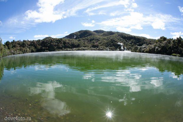 <strong>Теплые источники: ручей Kerosene Creek. Фото-2.</strong>