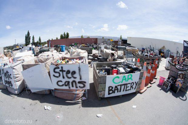 <strong>Фото-4 со станции переработки мусора.</strong>