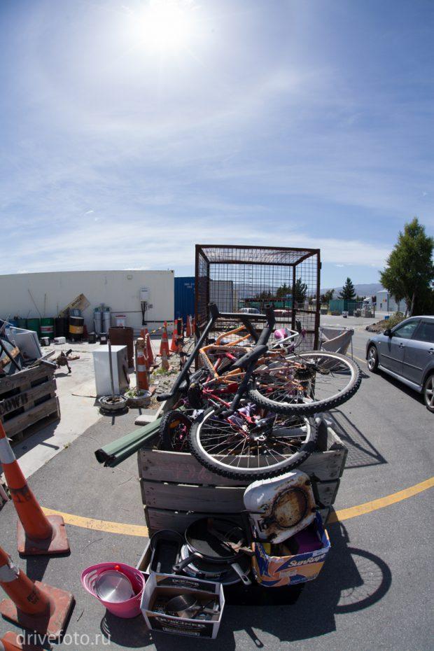 <strong>Фото-1 со станции переработки мусора.</strong>