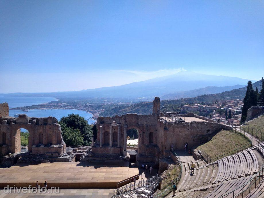 Развалины античного театра (Сицилия)
