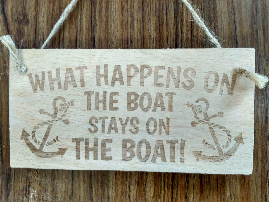 Что происходит на лодке, на ней и остается