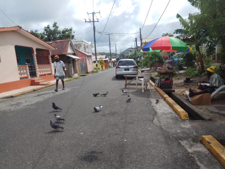 На улице острова Санта-Лючия
