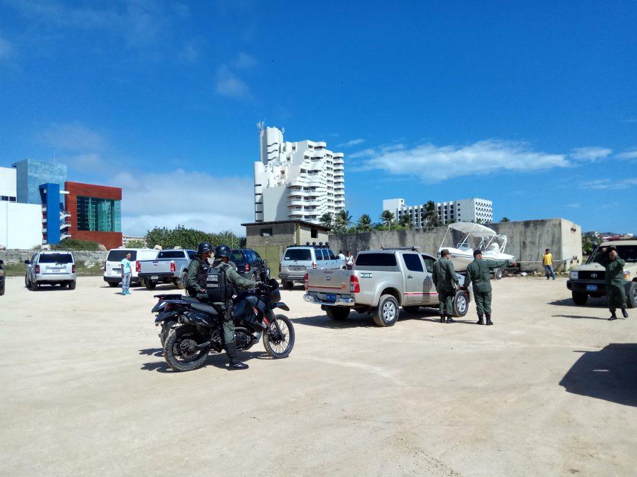 В стране очень много гвардии-полиции-коллективос