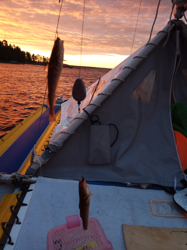 И рыбалка, и восход