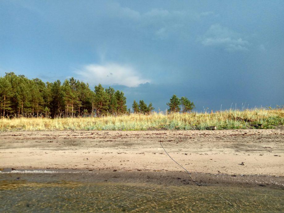 Песочные пляжи