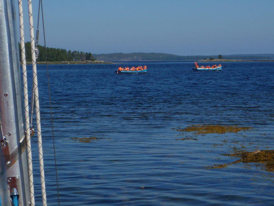 Флотилия Полярного круга на маршруте
